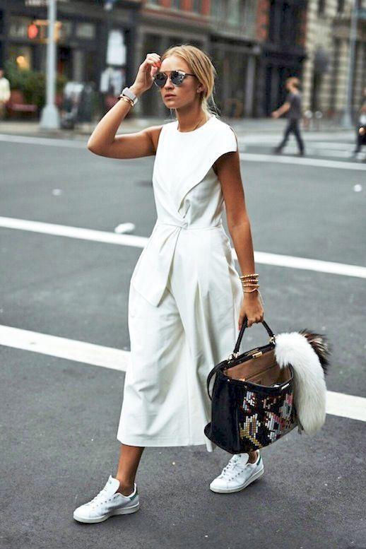 Le Fashion Blog Blogger Style Nyfw Tibi White Tie Front ...