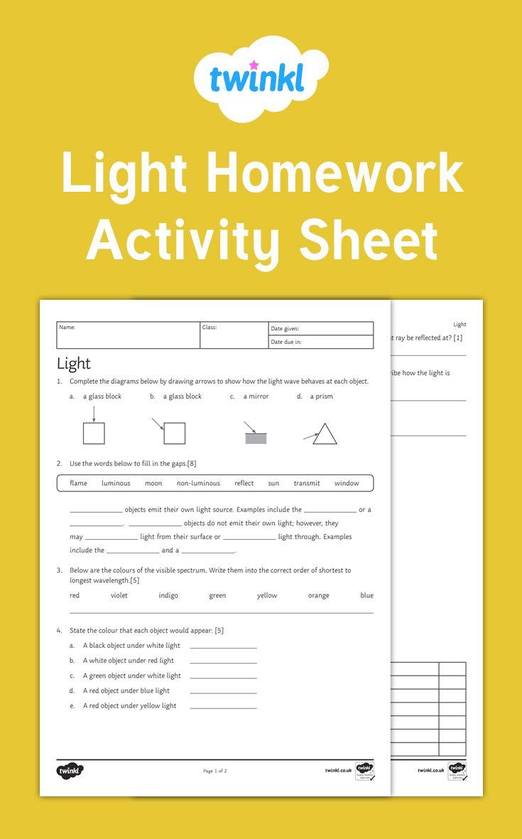 light homework
