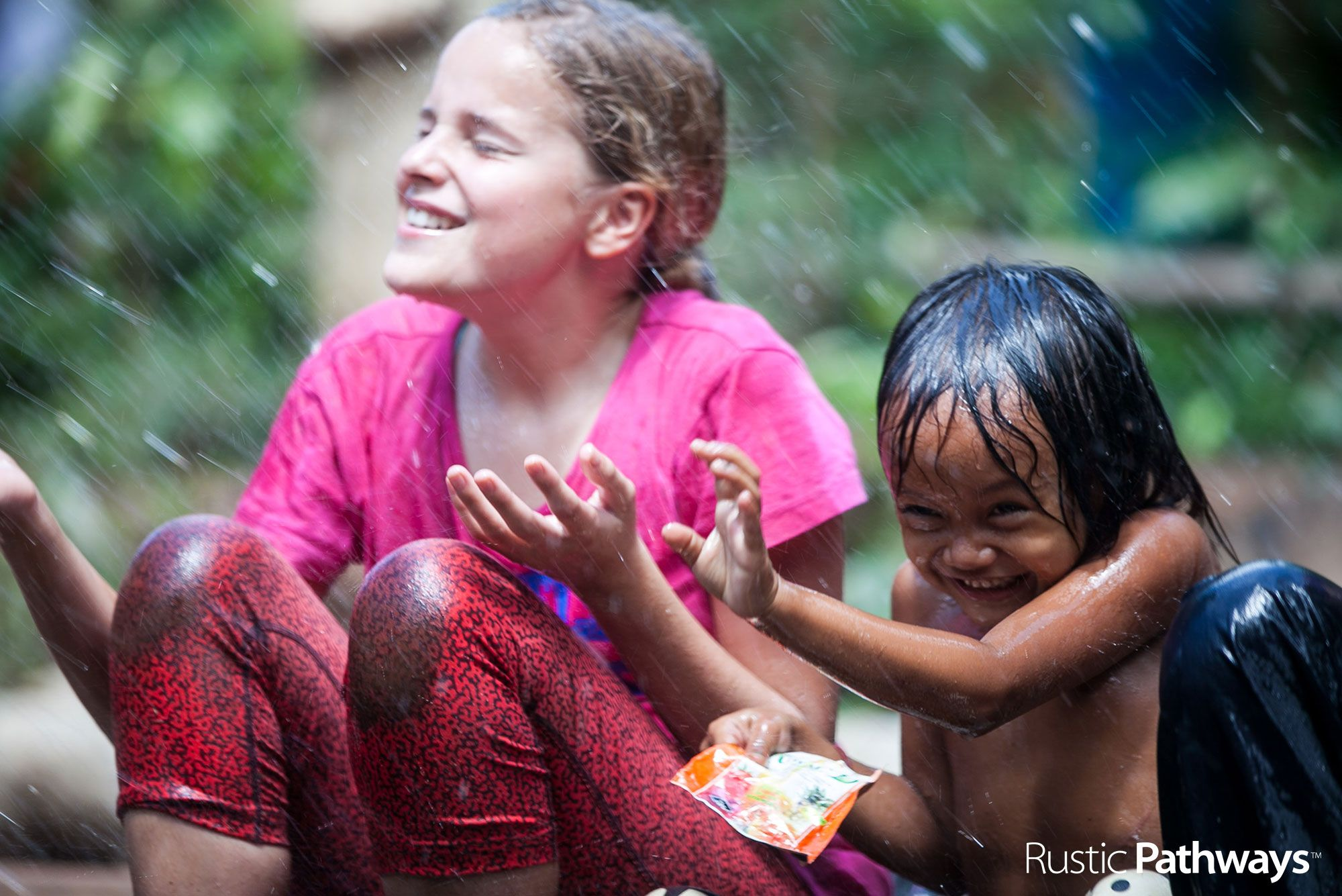 Getting splashed | CAMBODIA | Mary O'Connor