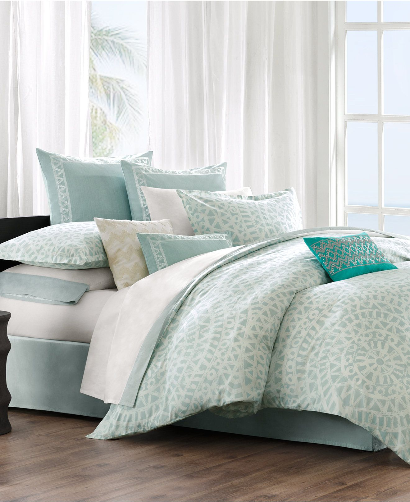 Echo Mykonos Bedding Collection Cotton