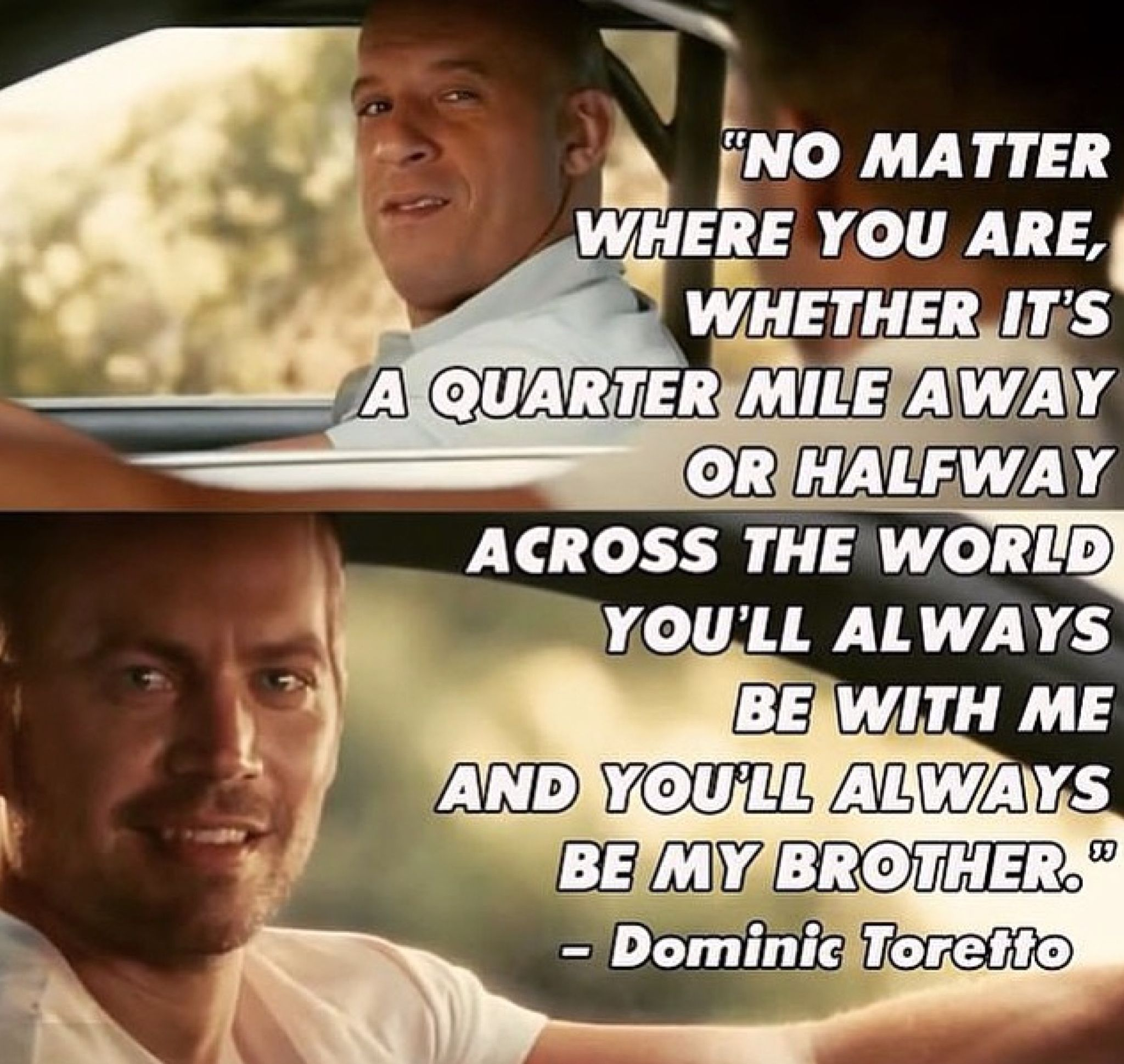 I think I died of a broken heart   Fast and furious