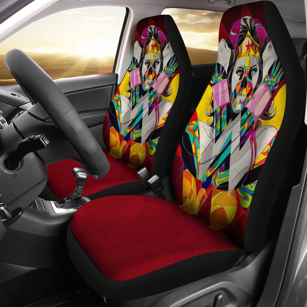 Wonder Woman Car Seat Covers Cars Seat Covers Car Seats
