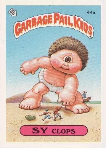 Tarjetas Garbage Pail Kids Garbage Pail Kids Cards Garbage Pail Kids Kids Series