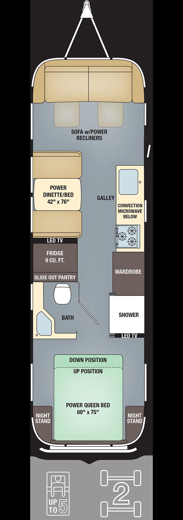 Floor Plans Classic 30 Airstream Dream Pinterest – 30 Ft Travel Trailer Floor Plans