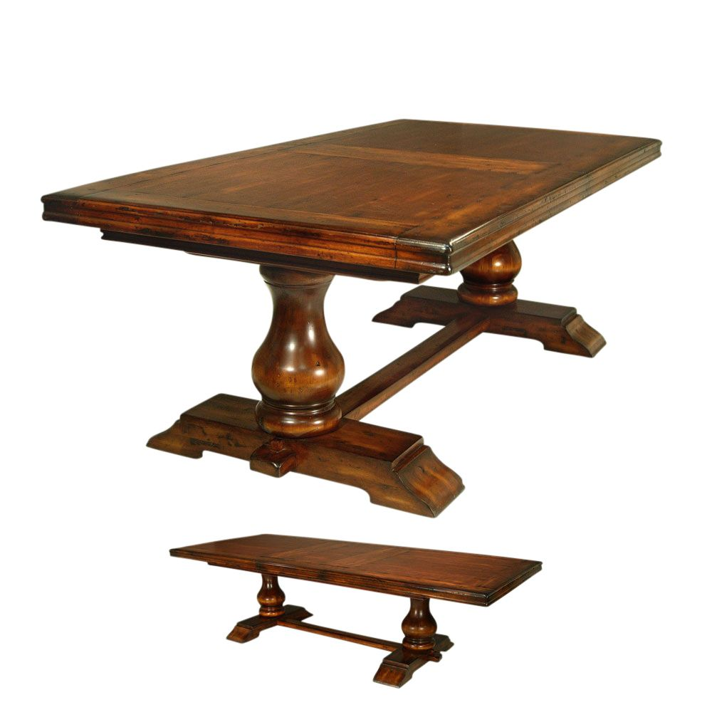 Tuscan Style Dining Room Table Old World