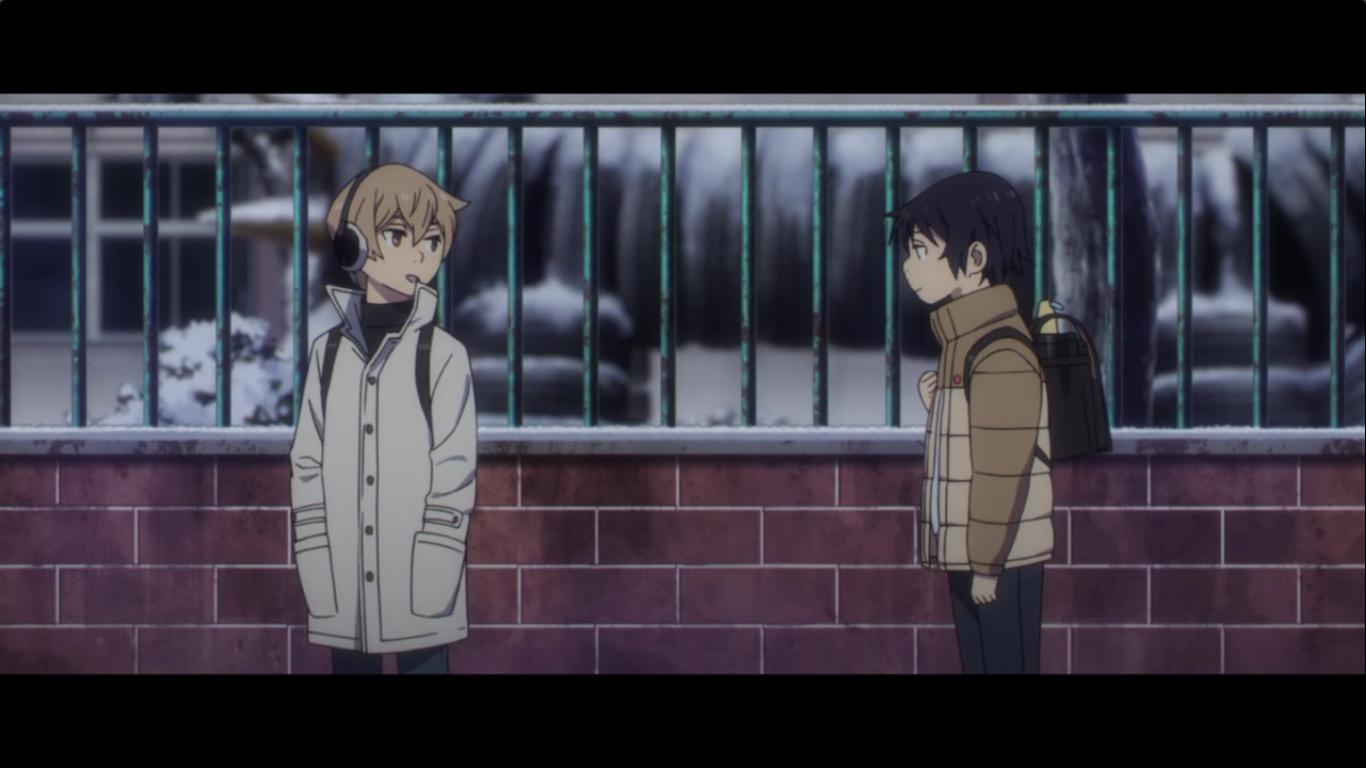 Boku Dake Ga Inai Machi Erased Episode 2 Screenshot Satoru Kenya Kid Kenya Anime Icons Anime