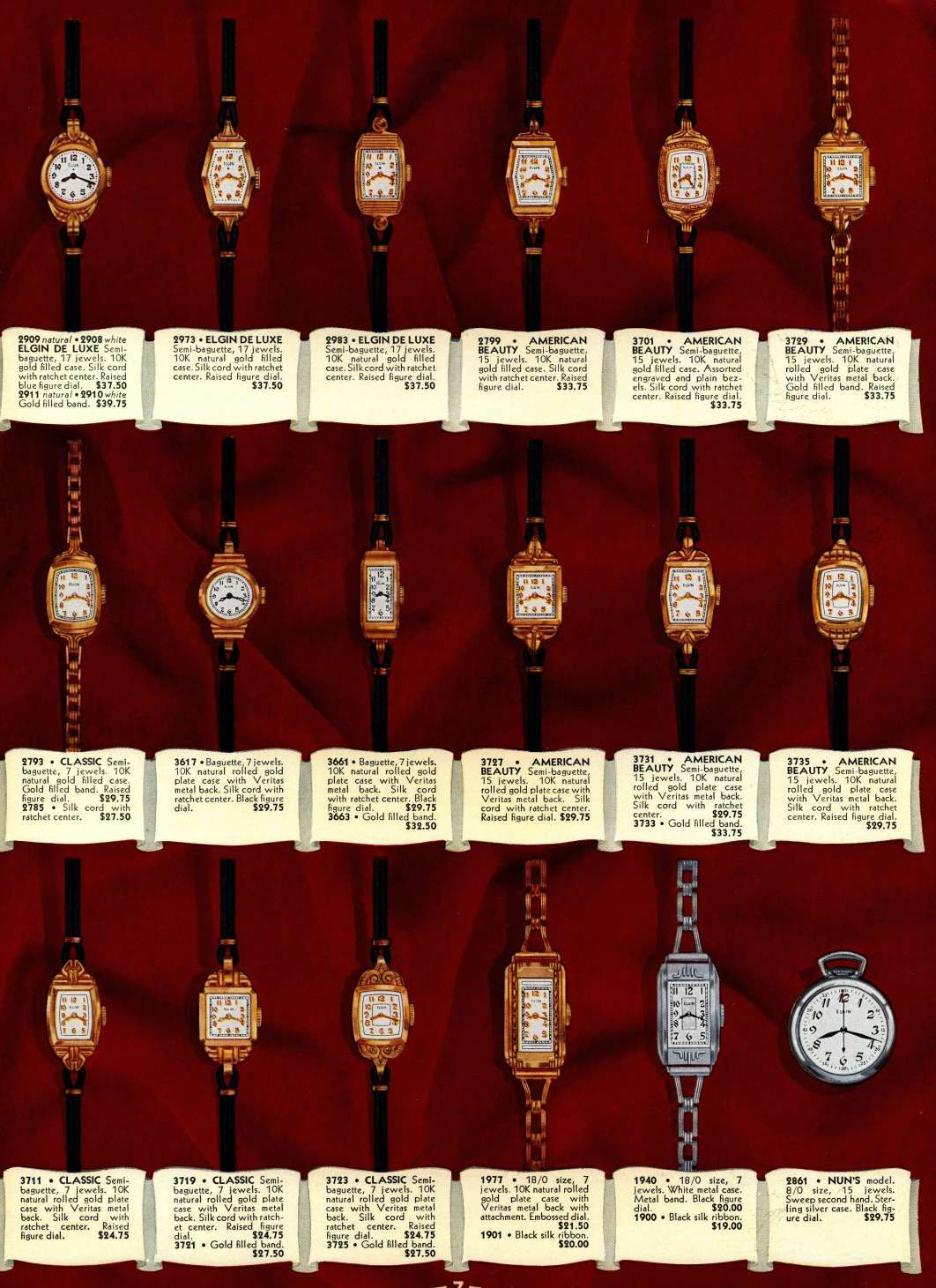1938 Catalog Elgin Watch Elgin My Style