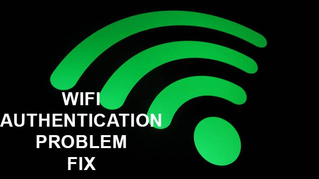 Are you experiencing wifi authentication problem on any