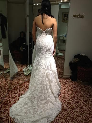 Ines Di Santo Amour: buy this dress for a fraction of the salon price on PreOwnedWeddingDresses.com