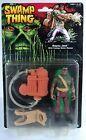 90's Vintage Kenner Swamp Thing - Hero Bayou Jack - 100% Complete - MOC #Figure #swampthing