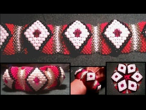 Free Beaded Christmas Ornament Patterns - http://www.guidetobeadwork.com/wp/2013/04/free-beaded-christmas-ornament-patterns-4/