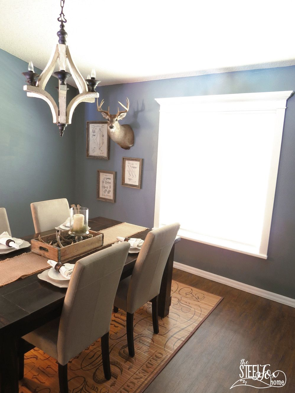 The First Room Is Done In Our Farmhouse Style Fixer Upper Dining Renovation Reveal