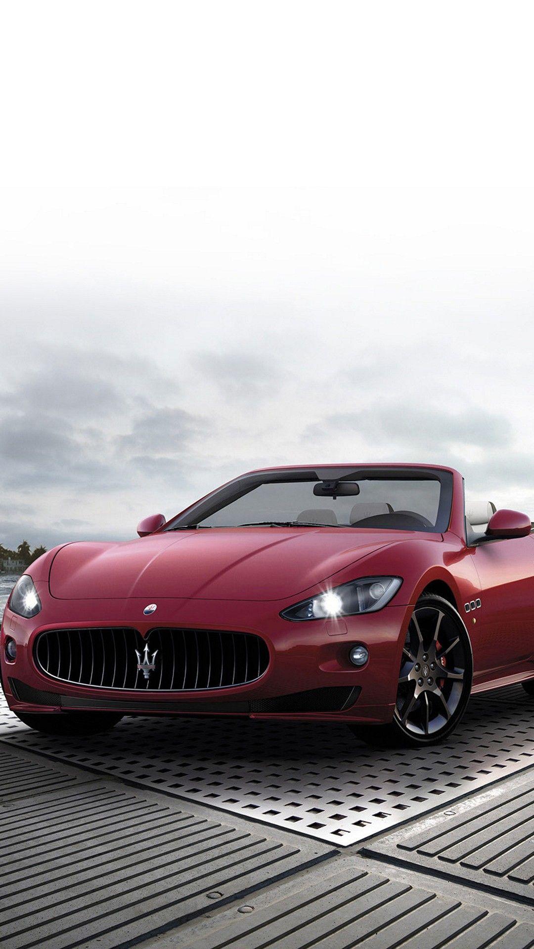 Maserati GranTurismo Cabrio Smartphone Wallpaper and