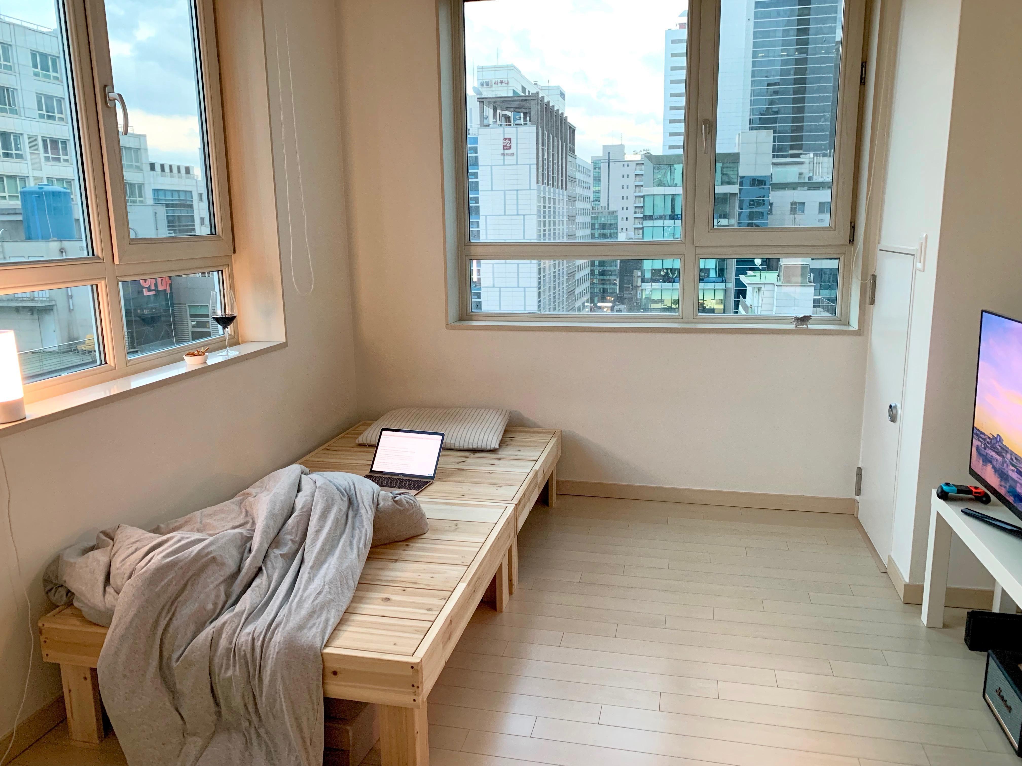 My Tiny 25 M Apartment In Gangnam Seoul Apartment Aesthetic Condo Interior Apartment Interior