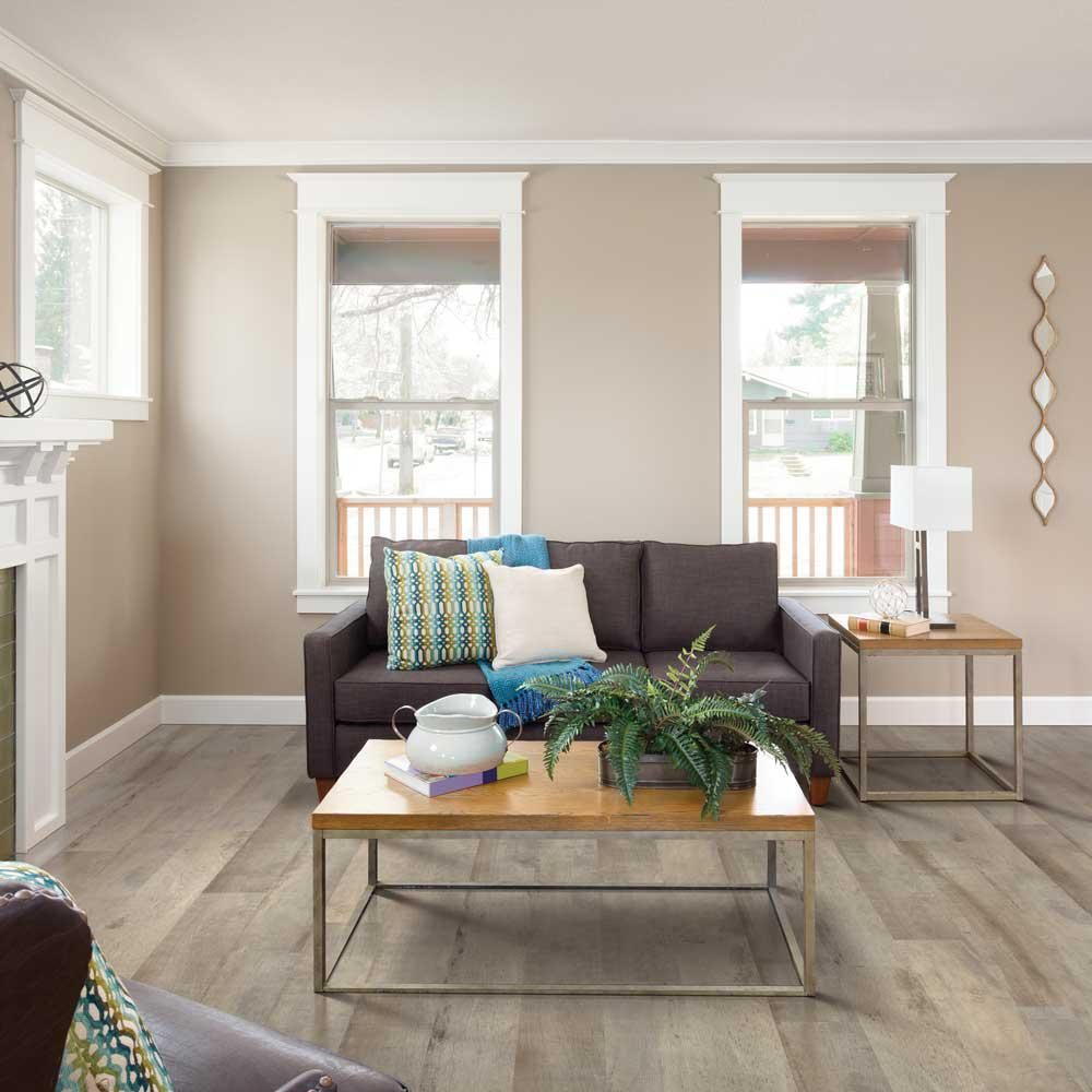 Pergo Outlast Rustic Wood 10 Mm Thick X 7 1 2 In Wide X 54 11 32 In Length Laminate Flooring 16 93 Sq Ft Rustic Wood Floors Pergo Flooring Pergo Outlast