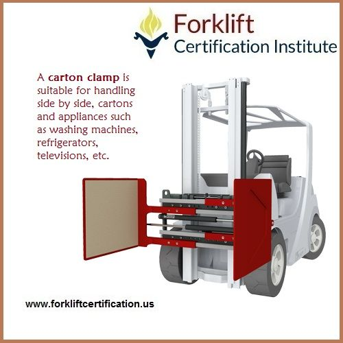 What does a CARTON CLAMP do? #forklift #forklifttraining - best of free forklift training certificate template