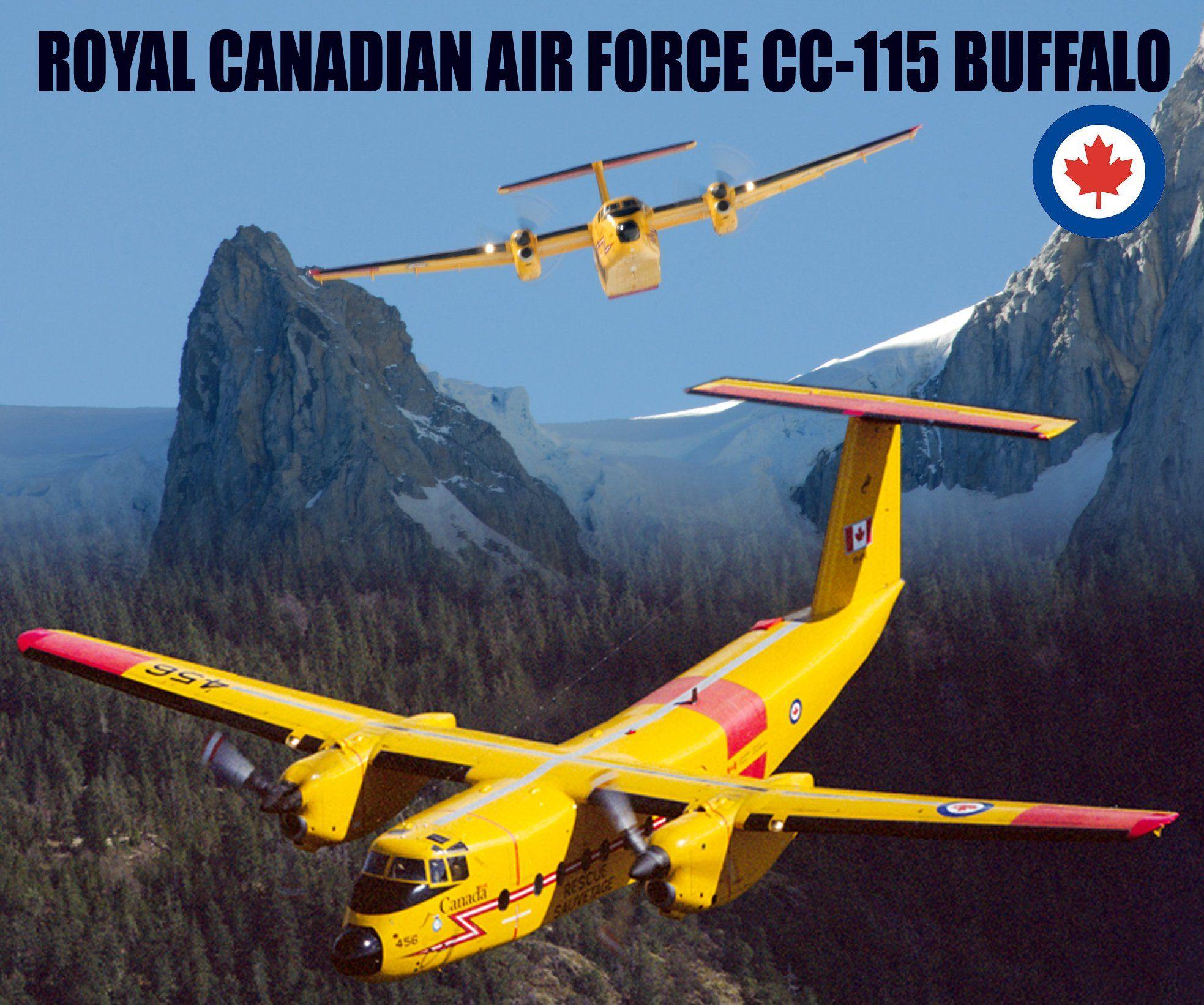 Rcaf De Havilland Canada Buffalo