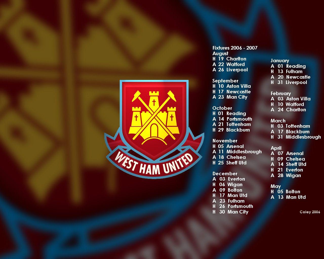West Ham United Ultra HD Wallpapers - http://wallatar.com ...