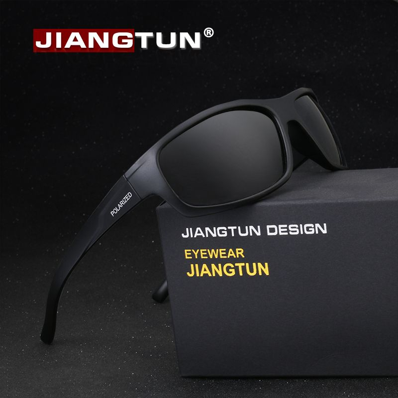 Jiangtun Sport Sunglasses Polarized Men Women Brand Designer Driving