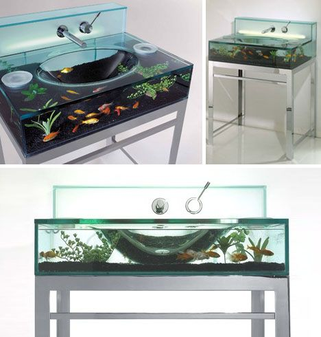 Aquarium Sink! This Is Awesome.
