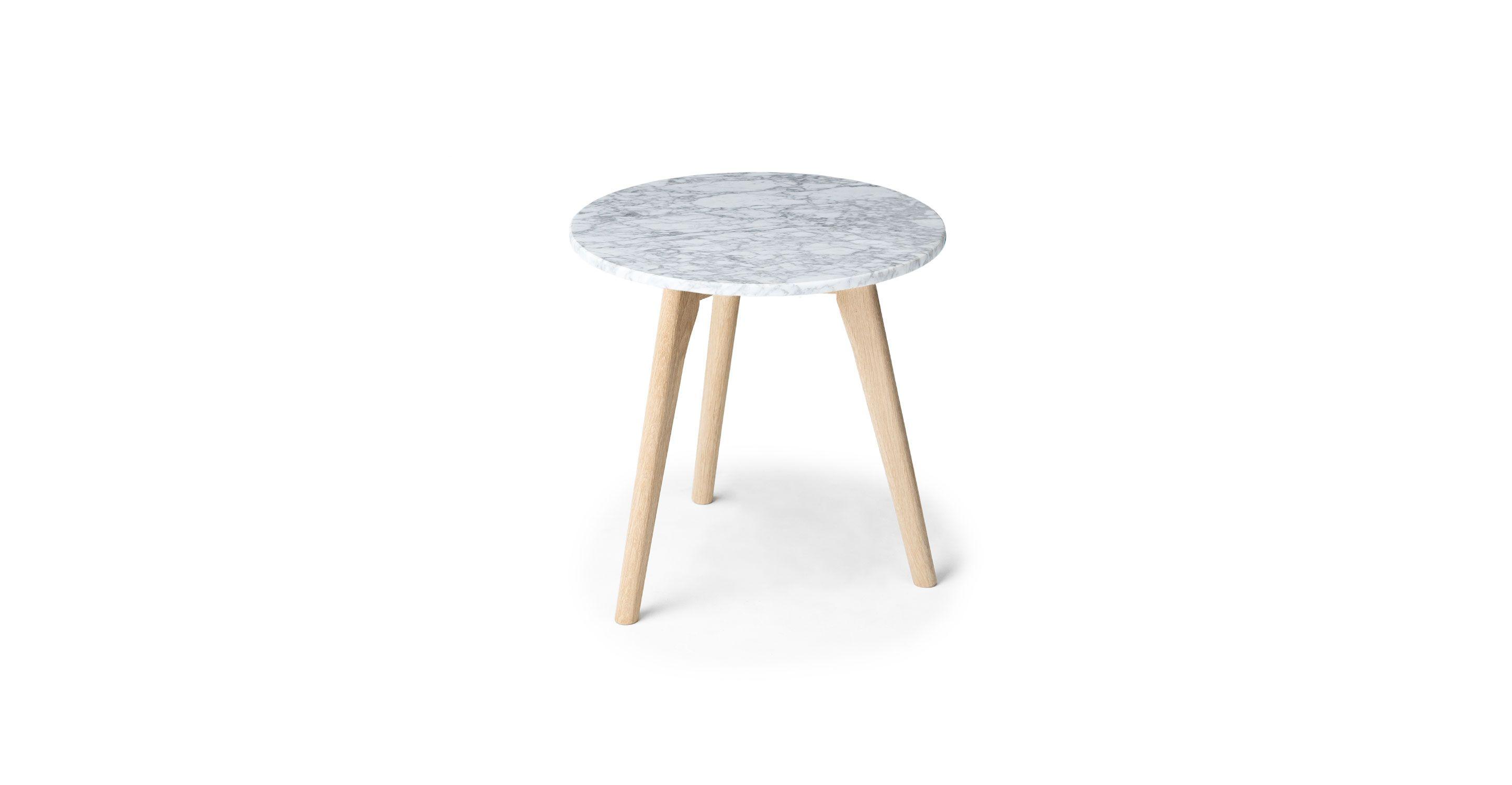 mara oak side table scandinavian furniture mid century and modern