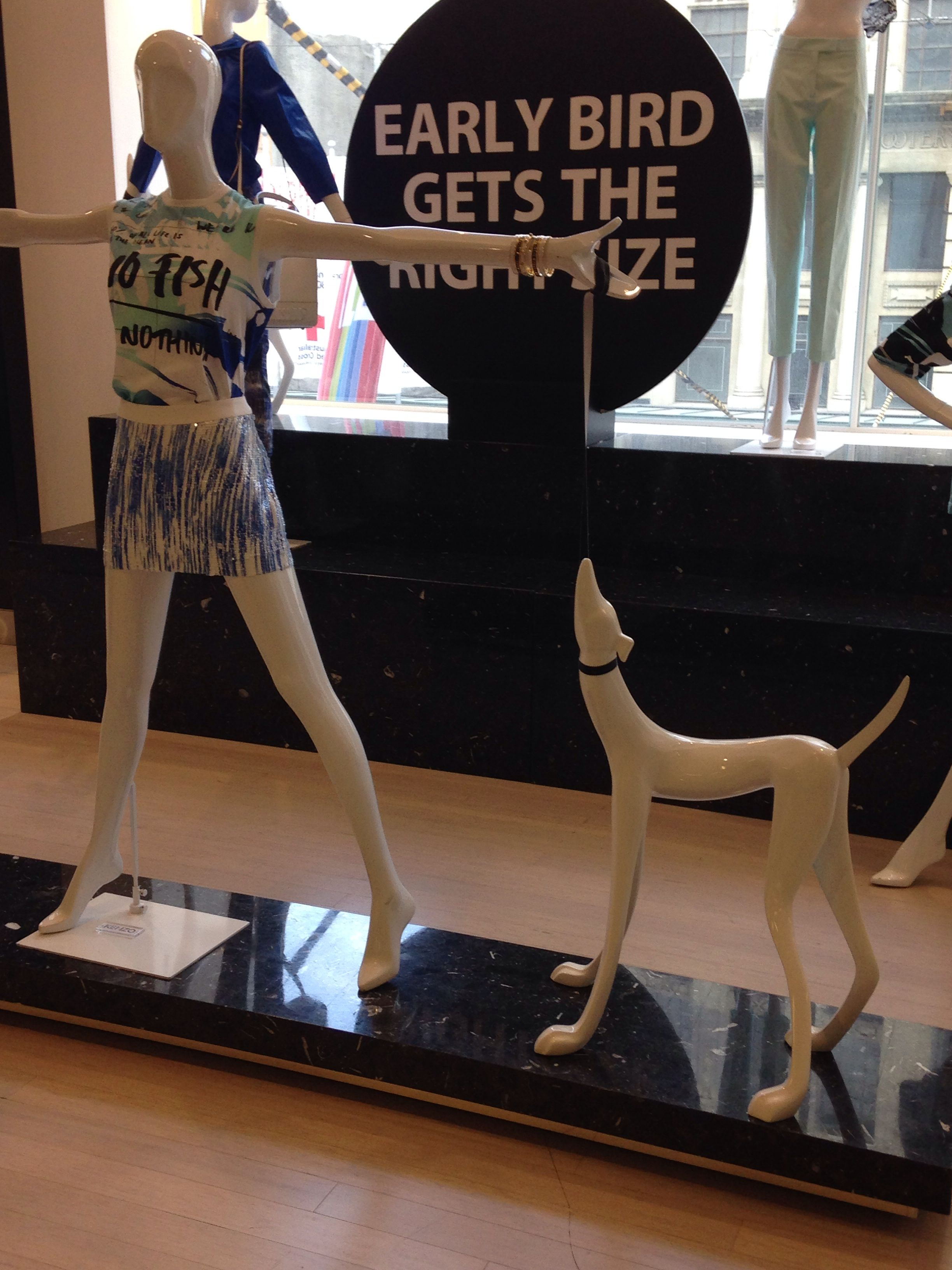 Love the play on the emotions dogs evoke. ~ www.icityretail.com