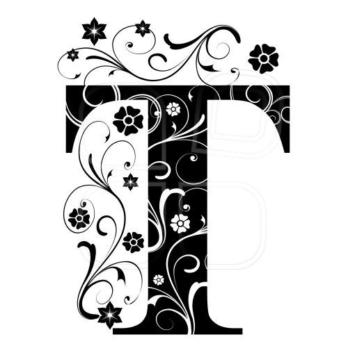 letter capital t letter stencils fancy letters letters and numbers monogram letters