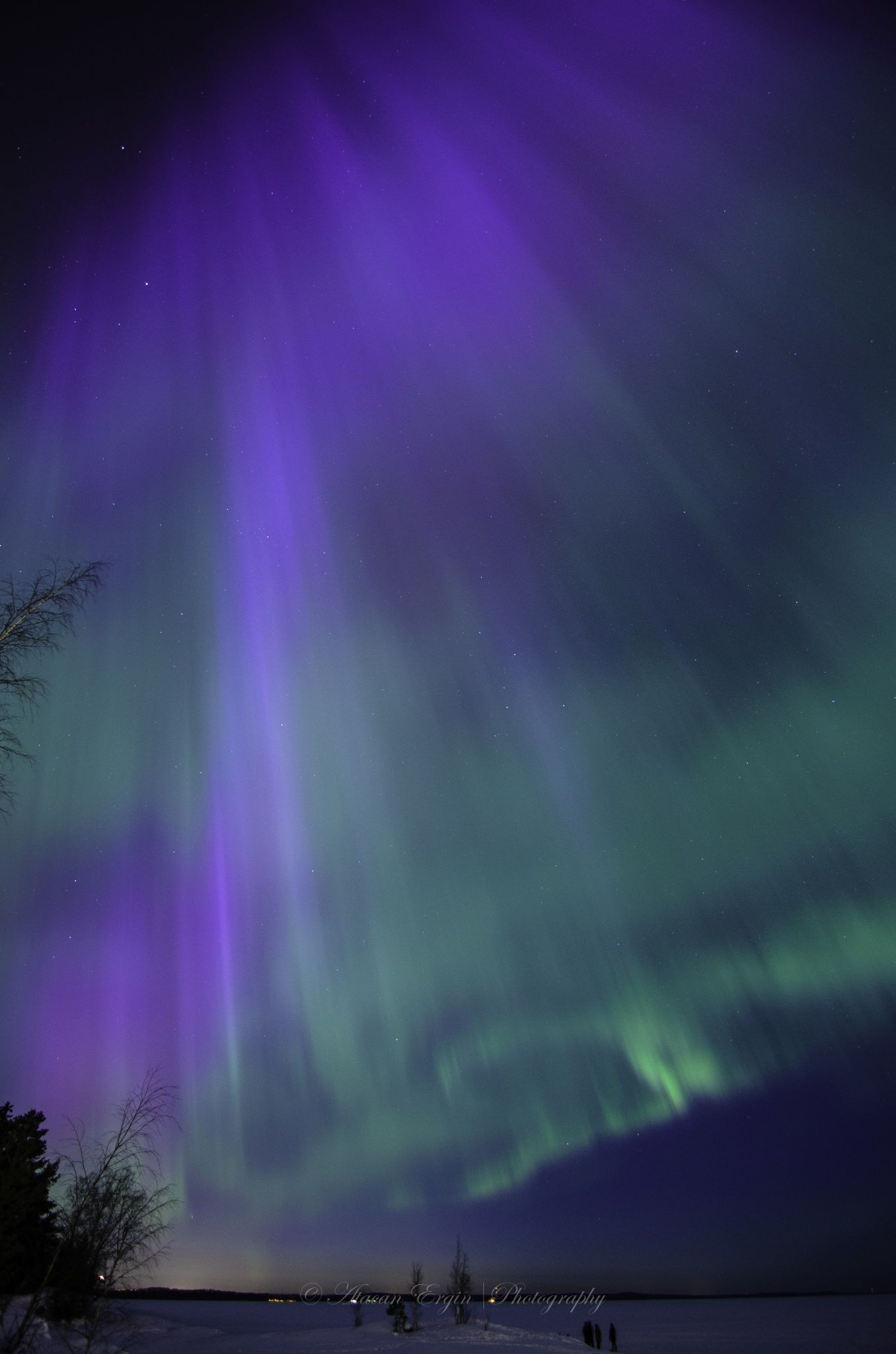 Northern lights tampere southern finland right after sunset by northern lights tampere southern finland right after sunset by atacan ergin on 500px malvernweather Images