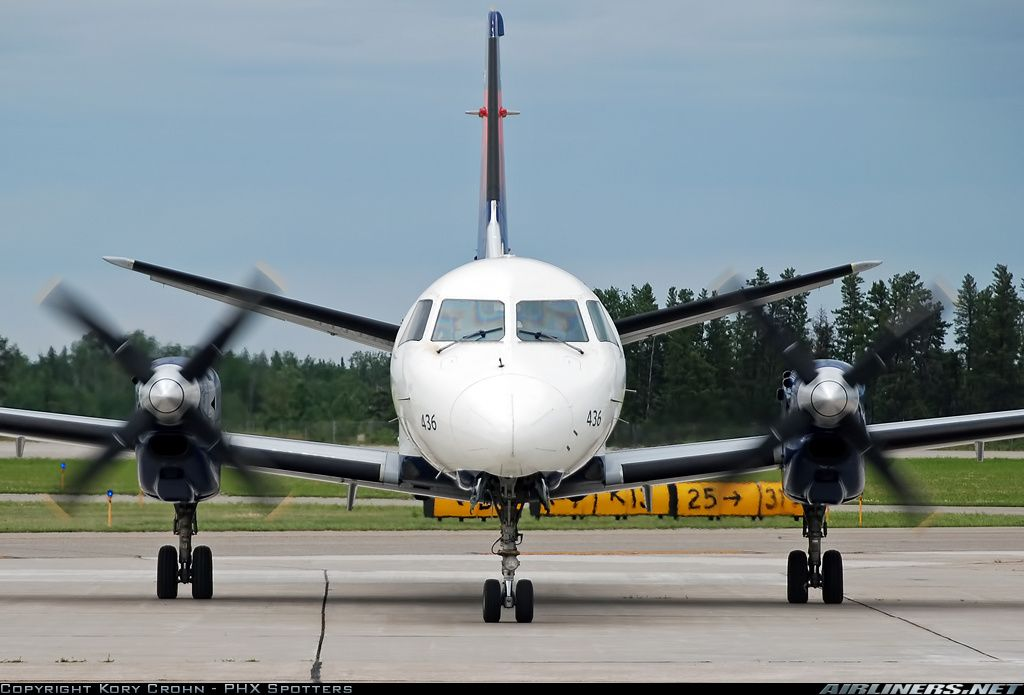 Delta Connection (Mesaba Airlines) Saab 340B/Plus Bemidji ...