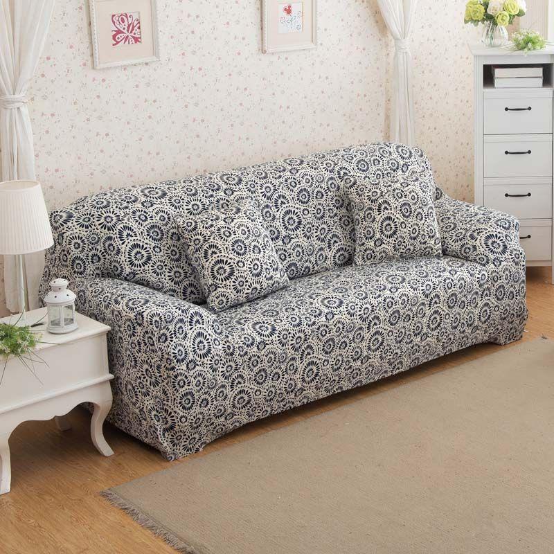 Subrtex 1Piece Jacquard Stretch Sofa Slipcover (Sofa