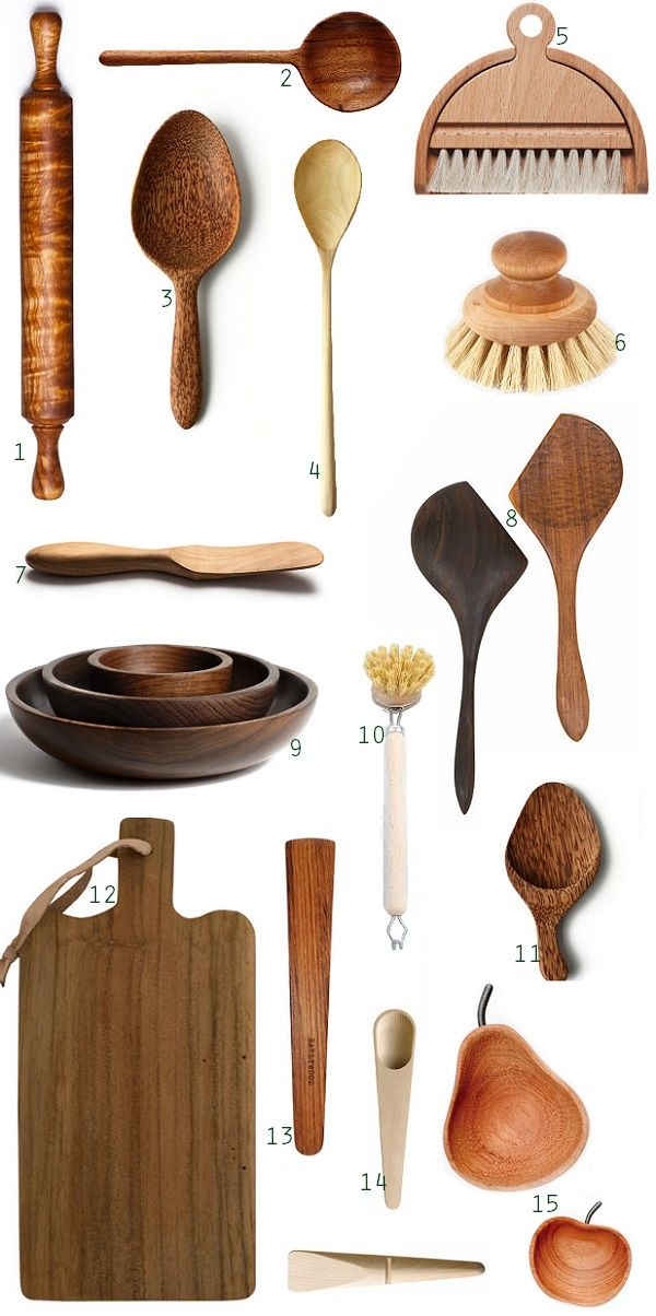 Photo of Simple Kitchen: Wooden Tools