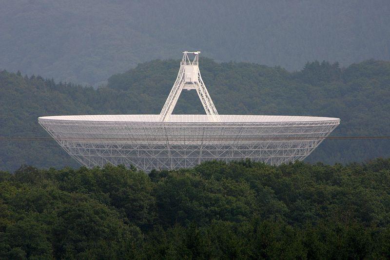 Radio telescope effelsberg 2 germany Спутниковые тарелки