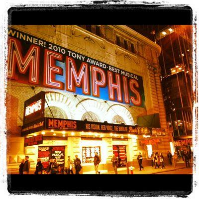 Shubert Theatre: Memphis