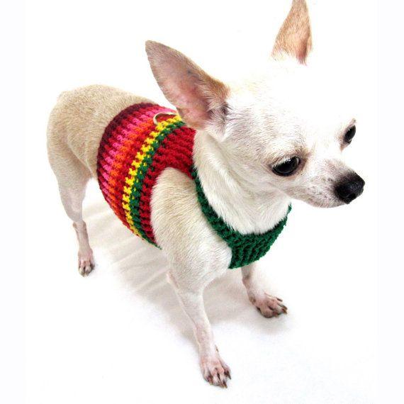 Perro suave arnés chaleco personalizado Collar del animal doméstico ...