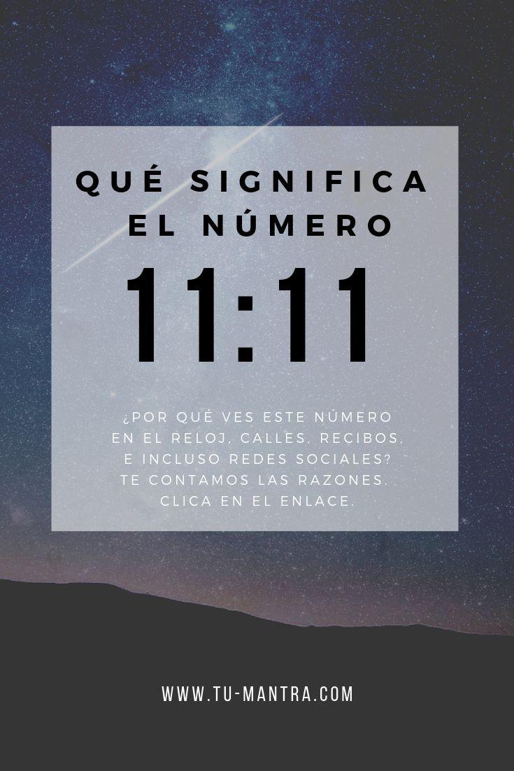 ¿Qué significa el número 11:11? En este artículo compartimos las razones principales por las que ves 1111 en el reloj, redes sociales, recibos, números de calle, etc. ¡Échale un vistazo al artículo! #numeros #repetidos #numero #1111 #numerologia #111 #11:11 #numero1111 #espiritualidad #leydeatraccion #metafisica