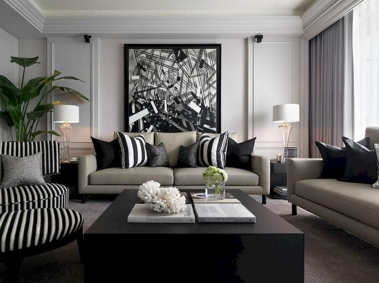 55 Best Home Decor Ideas: 55+ Minimalist Family Room Decorating Ideas