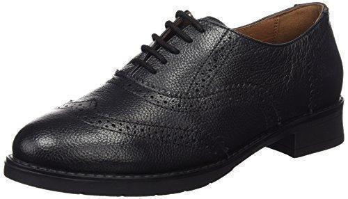 DemoniaDemonia Creeper-205 - Zapatos Planos con Cordones Mujer, Color Negro, Talla 40