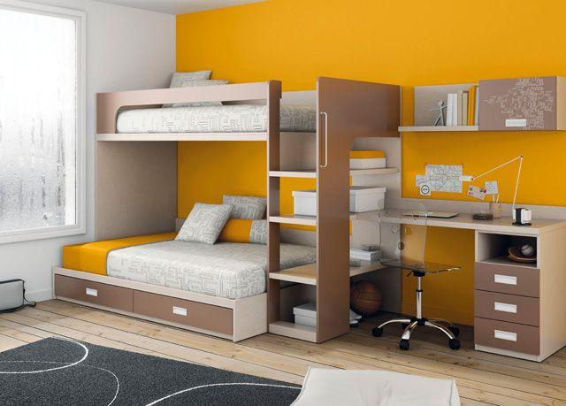 litera-cama-matrimonio.jpg (640×459) | decoración | Pinterest ...