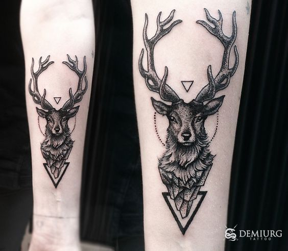 magazine - 15 inspirations de tatouage de cerf, place à la majesté