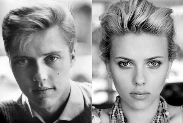 Image result for scarlett johansson christopher walken