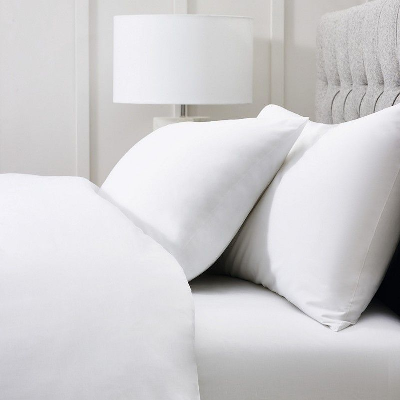 Egyptian Cotton Bed Linen Full Set Bed Linen Collections The White Company Egyptian Cotton Bedding Cotton Bed Linen Bed Linens Luxury