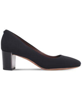 d3a7f83f3ef Corin Block-Heel Pumps | Products | Pumps heels, Black pumps heels ...