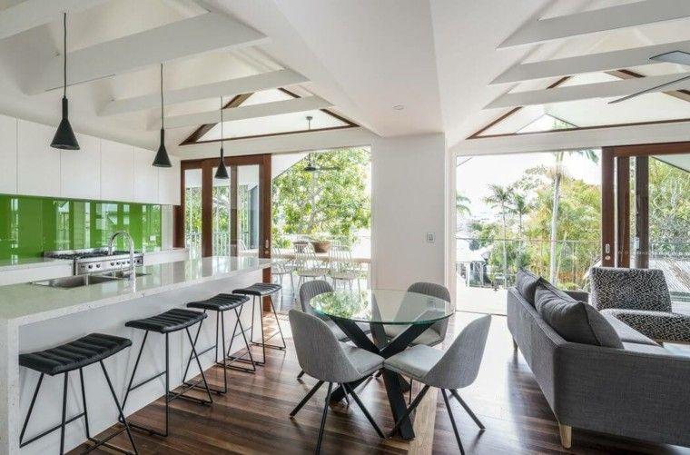 Salle à manger moderne de design innovant en 34 exemples