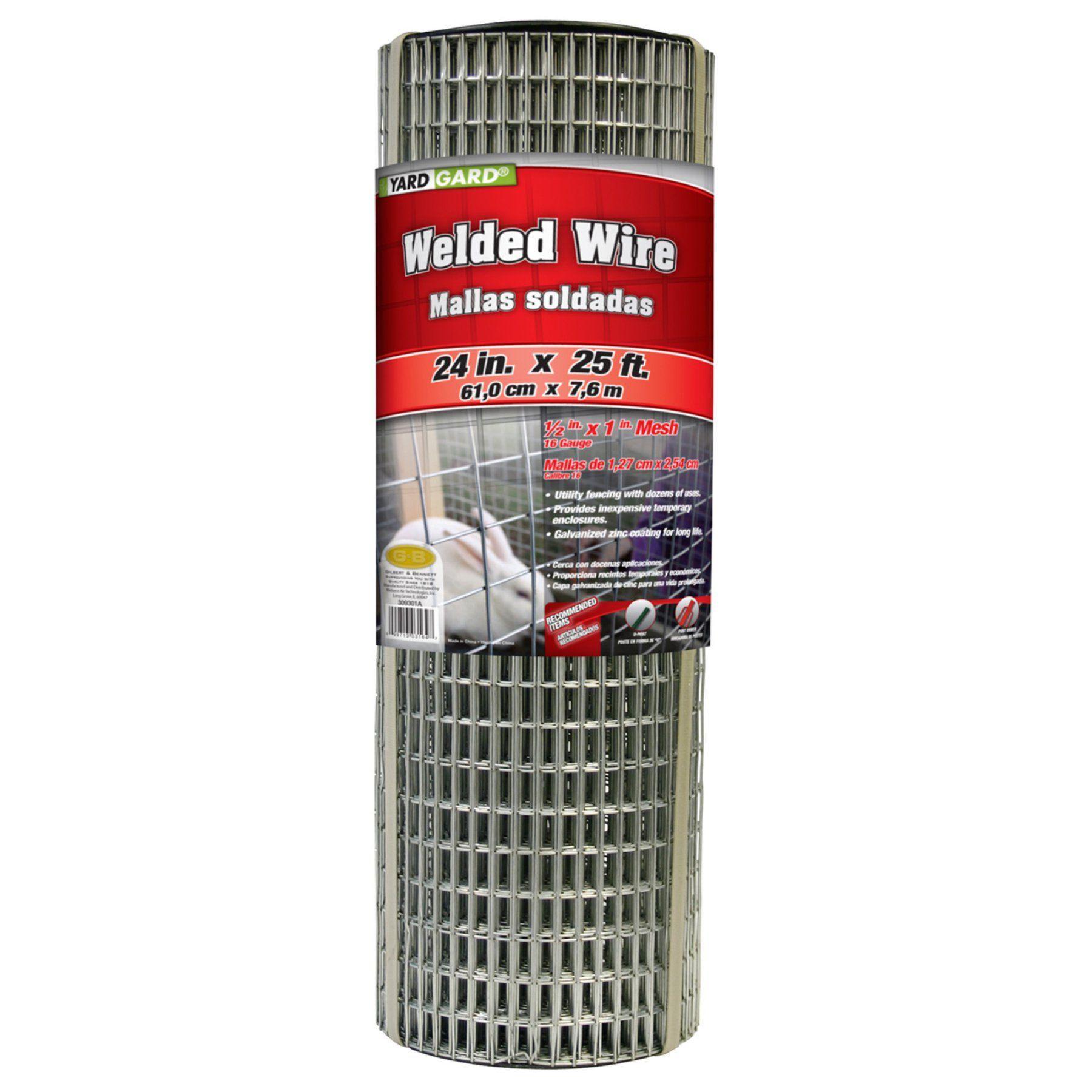 Yard Gard Mesh Galvanized Welded Wire 309301a Basket Lighting Wire Baskets Mesh Fencing