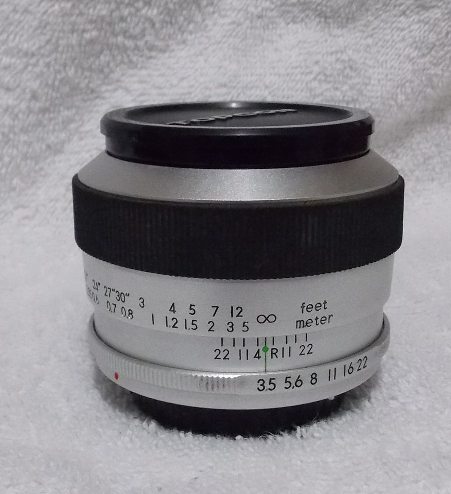 Topcor Re Macro Auto Tokyo Kogaku F3 5 58mm Lens Macro Lens