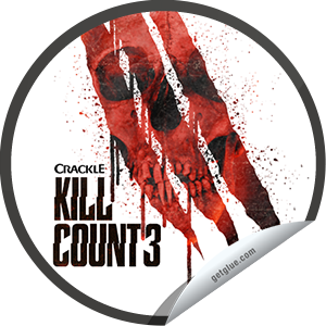 Steffie Doll's Kill Count 3 First Checkin Sticker