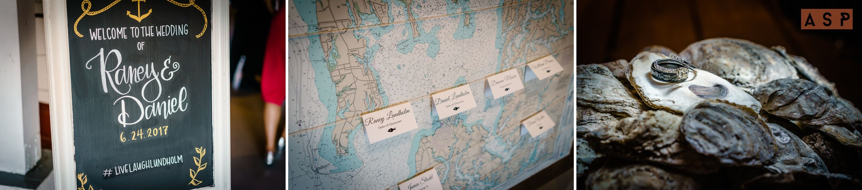 Annapolis Maritime Museum wedding details in Annapolis