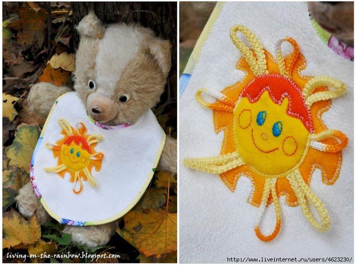Слюнявчики (нагруднички) для малышей: Дневник группы «Детский уголок»: Группы - женская социальная сеть myJulia.ru