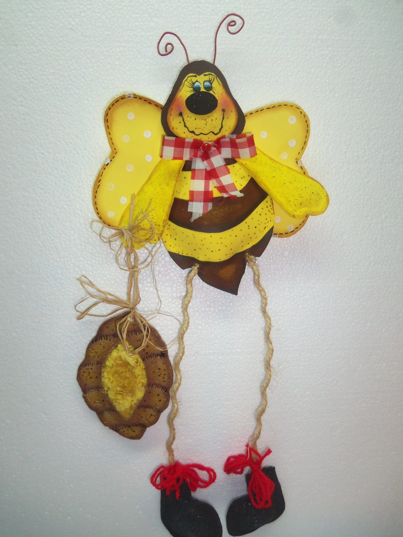 Abeja perfumera decoraci n habitaci n infantil con porta for Ahuyentar abejas jardin