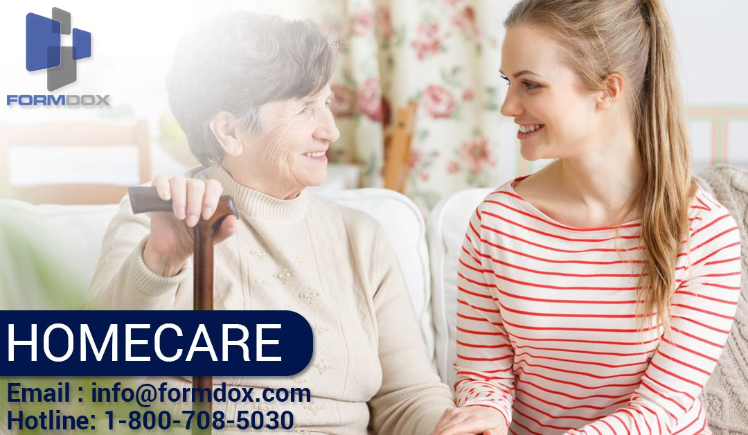 Formdox provides home carergivers who help adults with